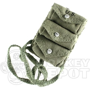 Pouch DiD US WWII 3 Pocket Grenade One Button Style