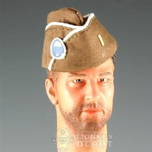 Hat DiD US WWII Officer Side Cap Airborne