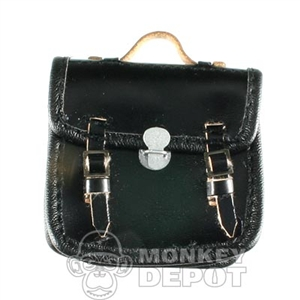 Case DiD British WWII Briefcase Black Leather