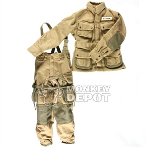 Uniform DiD US WWII M42 Reinforced Suspenders