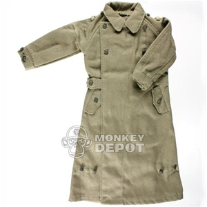 Coat: DiD German WWII Motorcycle Greatcoat