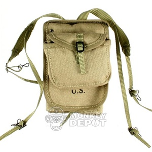 Pack: DID US WWII M1928 Haversack w/Meatcan Pouch