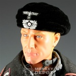 Hat: DiD German WWII Panzer Beret (Molded and Flocked)