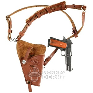 Pistol: DiD US WWII .45 1911 w/Shoulder Holster
