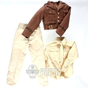 Uniform: DiD US WWII Ike Jacket w/Trousers and Shirt