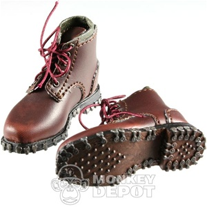 Boots: DiD German WWII Mountain Brown