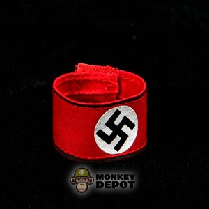 Armband: DiD German WWII SS Red