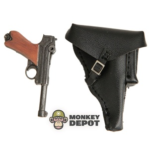 Pistol: DiD German WWII Luger w/Holster