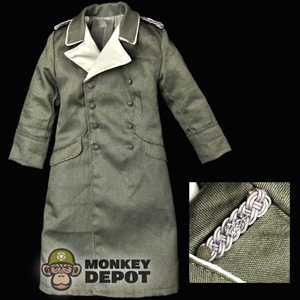 Coat: DiD German WWII SS Officer Greatcoat