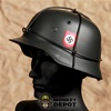 Hat: DiD German WWII M42 SS Double Decal w/Wire