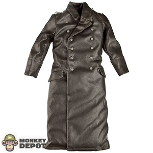 Coat: DiD German WWII Greatcoat Officer (Leatherlike)