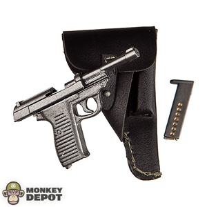 Pistol: DiD German WWII Walther P-38 w/Holster
