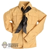 Shirt: DiD German WWII Tan w/Scarf