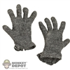 Gloves: DiD German WWII Gray Knit