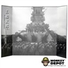 Display: DiD B&W WWII Battleship Backdrop 2 (22in X 14in)