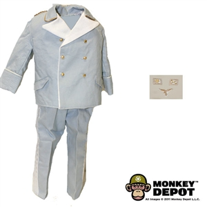 Uniform: DiD German WWII Luftwaffe Officer Dress (Light Blue)