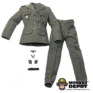Uniform: DiD German WWII SS SS-Standartenführer w/ Insignia