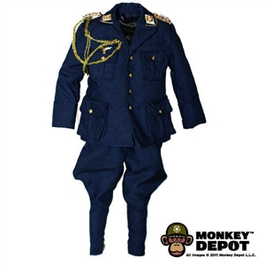 Uniform: DiD German WWII Luftwaffe Officer (Dark Blue)