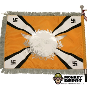 Flag: DiD German WWII Luftwaffe w/ Flag Carrier