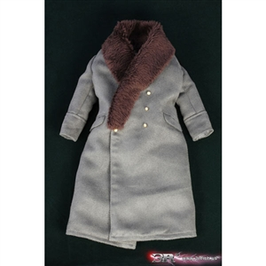 Coat: DiD German WWII Greatcoat w/ Wool Collar