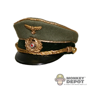 Hat: DiD German WWII Field Marshall Visor Cap