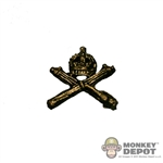 Insignia: DiD British WWI Machine Gun Corps Cap Badge