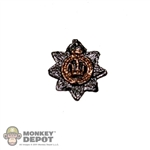 Insignia: DiD British WWI Devonshire Regiment Cap Badge