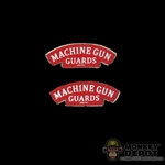 Insignia: DiD British WWII Machine Gun Guards Shoulder Titles