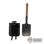 Tool: DiD German WWI Entrenching Tool w/ Carrier
