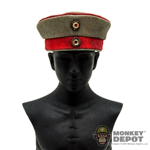 Hat: DiD German WWI M1907 Field Cap (Dirty)