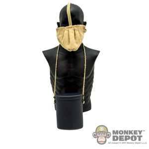 Gas Mask: DiD French WWI Gas Mask w/ Canister