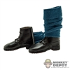 Boots: DiD French WWI Black Boots w/ Puttees