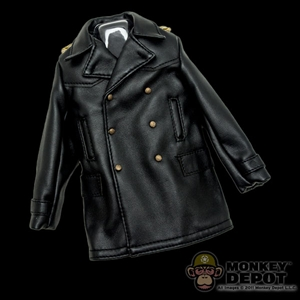 Coat: DiD German WWII Coat Officer (Leatherlike)