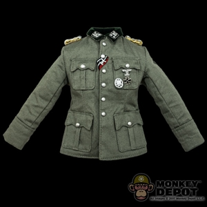 Tunic: DiD German WWII Officer w/Medals