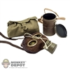 Gas Mask: DiD German WWI Gas Mask w/ Canister
