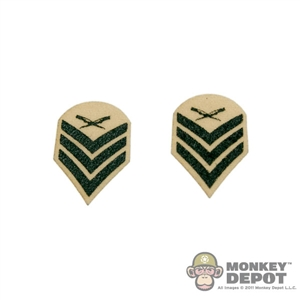 Insignia: DiD US Marine Sergeant E-5 SGT Chevron Patches