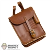 Case DiD German WWII Map Brown Leatherlike