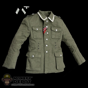 Tunic: DiD German WWII NCO w/M42 Insignia