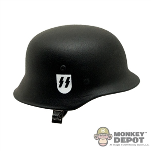 Helmet: DiD German WWII M35 SS Double Decal Metal