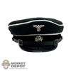 Hat DiD German WWII SS Visor Cap