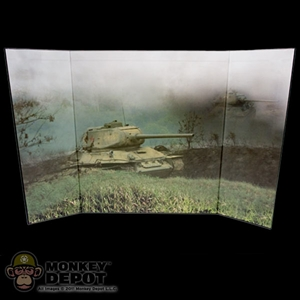 Display: DiD Tank in Field  (22in X 14in)