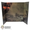 Display: DiD Battlefield Explosion (22in X 14in)