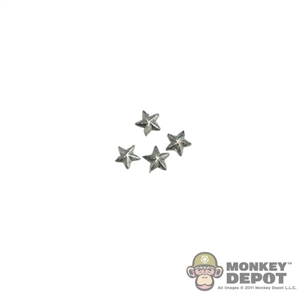 Insignia: DiD US WWII Stars (Larger Silver)