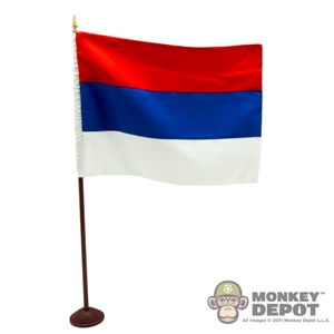 Flag: DiD Russian National w/Stand