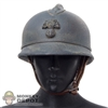 Helmet: DiD French WWI Adrian Helmet
