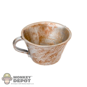 Cup: DiD French WWI Tin Cup (Weathered)