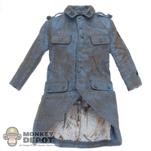 Coat: DiD French WWI Blue Greatcoat (Weathered)