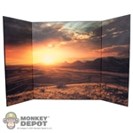 "Display: DiD Sun Set Backdrop (21"" X 13.5"")"