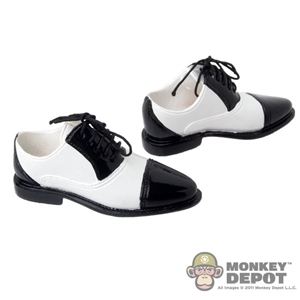 Shoes: DiD Black & White Saddle Shoes