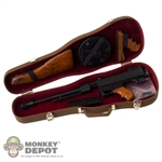 Rifle: DiD Toys M1921 Thompson Metal/Wood w/Violin Case